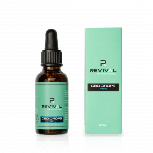 1200mg CBD Oil Drops Mint 30ml
