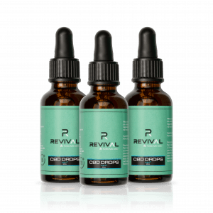 3 x CBD Oil Drops Mint 1200MG