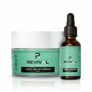 CBD Oil Drops Mint 2400MG and CBD Joint Cream