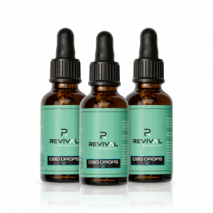 3 x CBD Oil Drops Mint 2400MG